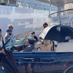 Filming of The Crown in Palma. 11-10-2021 Ultima Hora